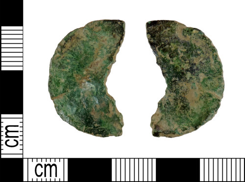 DENO-2D9D57: Possible Roman coin: dupondius or as of an uncertain ruler