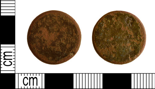 DENO-42BC70: Post-medieval coin weight