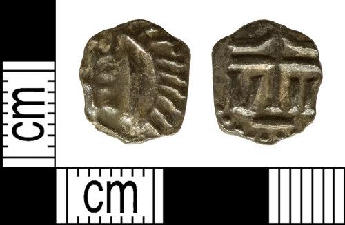 DENO-4A202A: Early medieval coin: Merovingian denier