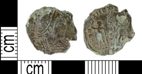 DENO-62594D: Roman coin: nummus of Constantine II