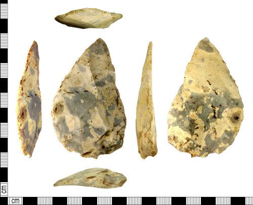 DENO-85BB29: Neolithic to Bronze Age scraper
