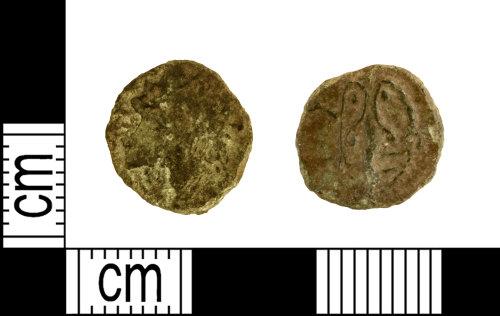 DENO-8C0ECA: Roman coin: barbarous radiate of Tetricus I