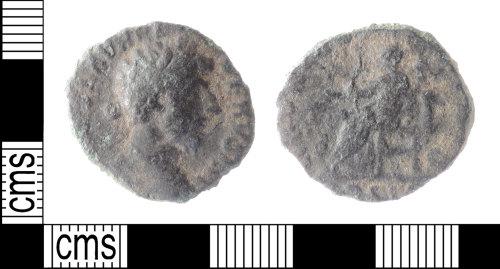 DENO-8D96C8: Roman Coin: As of Lucius Verus