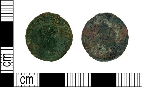DENO-9A030B: Roman coin: nummus of Constantine I