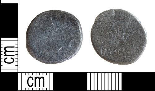 DENO-AE578E: Roman coin: denarius of Mark Antony