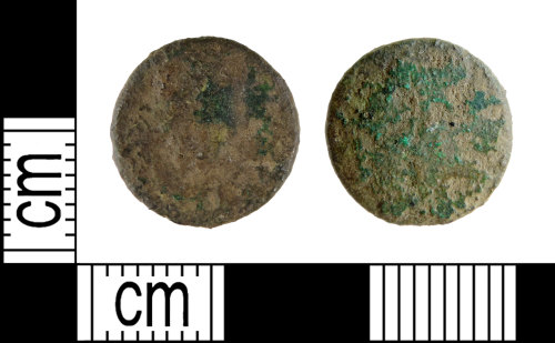DENO-B71472: Roman coin: possible contemporary copy of a nummus