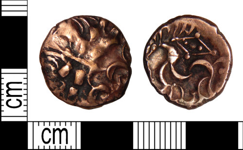 DENO-B8A517: Iron Age coin: stater of the Corieltavi