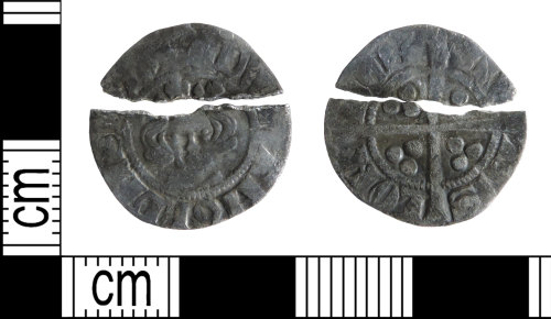 DENO-C785D5: Medieval coin: penny of Edward I
