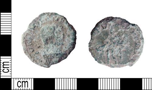 DENO-CB937E: Roman coin: nummus of Maximian I