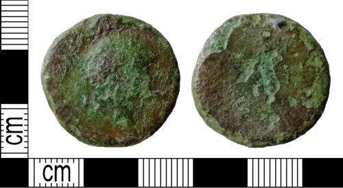 DENO-EED6F6: Roman coin: dupondius or as of an uncertain ruler