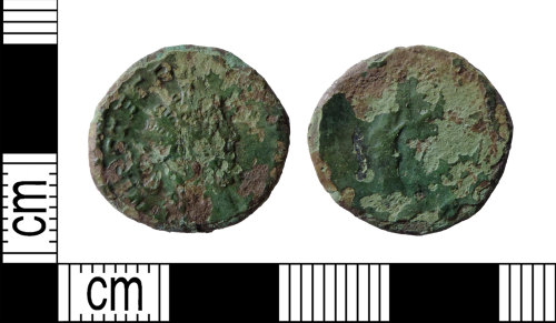 DENO-FEEB98: Roman coin: radiate of Tetricus I
