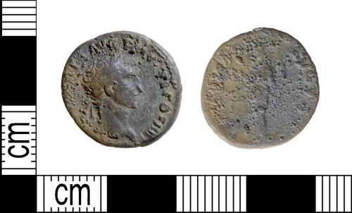 DENO-FF41A8: Roman coin: denarius of Nerva