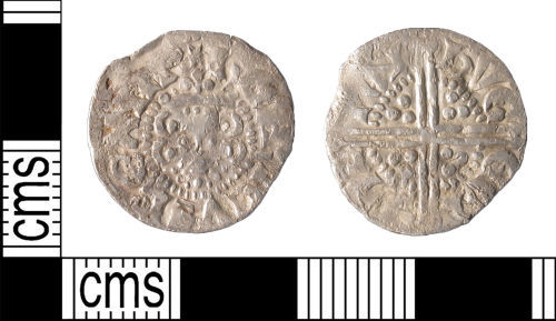 LIN-173642: Medieval Coin : Long Cross Penny of Henry III