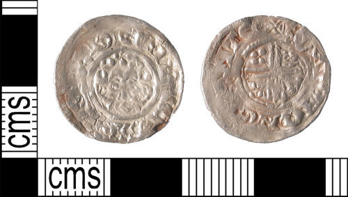 LIN-17C6B2: Medieval Coin : Short-cross Penny of Henry II to Henry III