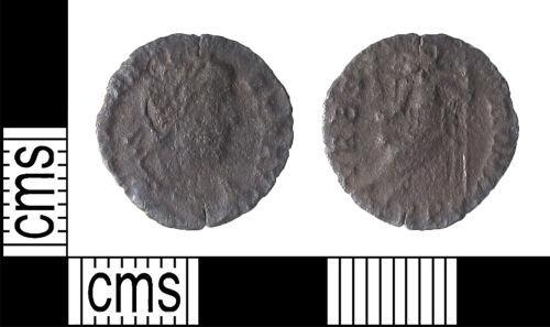 LIN-18C688: Roman Coin : Siliqua of Valens