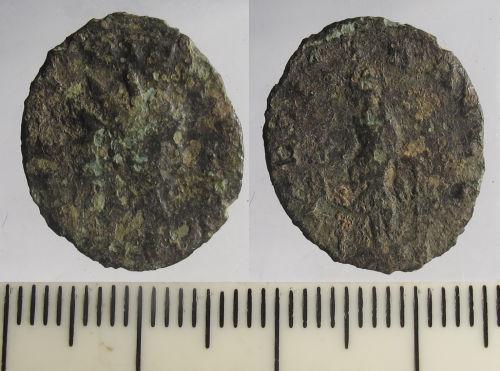 LIN-D72F5C: Roman Coin : Radiate of Tetricus I