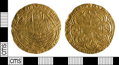 LIN-EE094C: Medieval Coin : Noble of Richard II