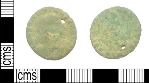 HAMP-B372B6: Roman Coin : Nummus of the House of Constantine