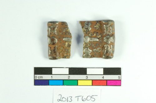 ESS-2B2E50: Early Medieval Silver Mount
