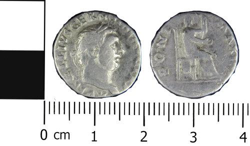 A resized image of Vitellius Denarius