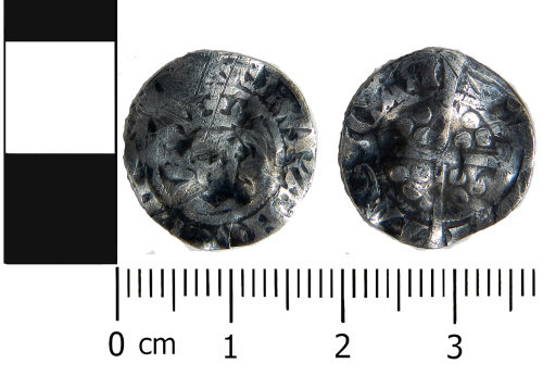 LVPL-FF6586: Medieval coin: Penny of Edward III