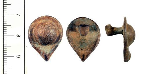 YORYM-681D41: YORYM-681D41 Iron Age petal boss mount