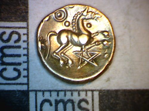 PUBLIC-D03BE7: Ironage quarter stater obv