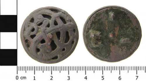 SWYOR-114BB0: Early Medieval Brooch