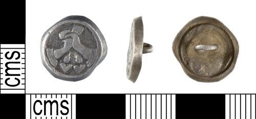 YORYM-F1B4A2: Post-Medieval : Cuff Link