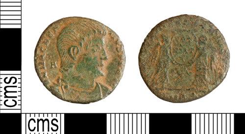 YORYM-DEFFA6: Roman Coin : Nummus of Magnentius