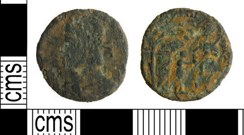 YORYM-A3169E: Roman Coin : Nummus of the House of Constantine