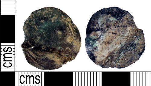 YORYM-65D8A3: Post-medieval Coin : Sixpence of Uncertain Ruler