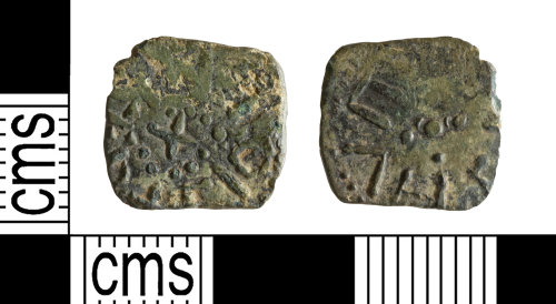 YORYM-4CAB47: Early-Medieval Coin : Northumbrian Anonymous blundered Styca