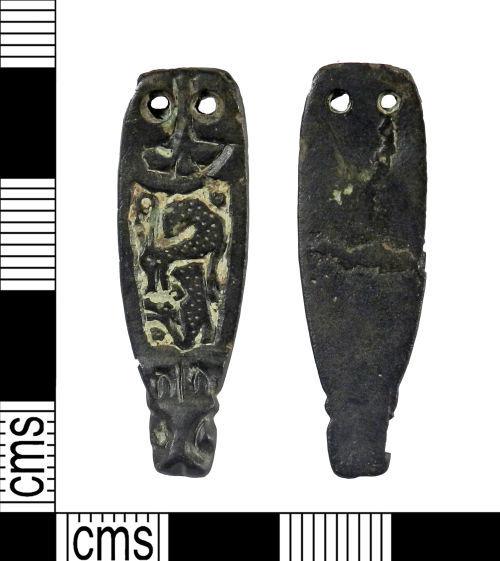 YORYM-D23B76: Early Medieval : Strap End