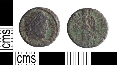 YORYM-79678C: Roman Coin : Nummus of Valens