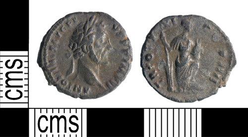 YORYM-B78E4E: Roman Coin : Denarius of Antoninus Pius