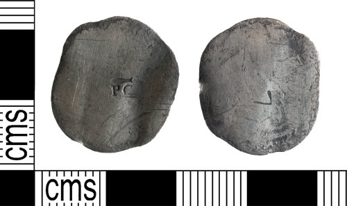 YORYM-54F44D: Post-Medieval Coin : Uncertain denomination and ruler