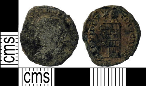 YORYM-90D432: Roman Coin : Nummus of the House of Constantine