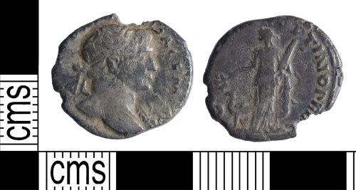 YORYM-DDA189: Roman Coin : Denarius of Trajan