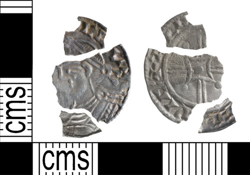 YORYM-687CCE: Early-Medieval Coin : Penny of Harthacnut