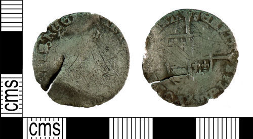 YORYM-17E07F: Post-medieval Coin : Groat of Mary