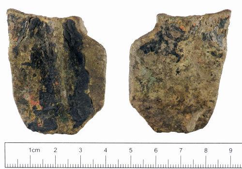 YORYM-7B9744: Medieval : Vessel Leg