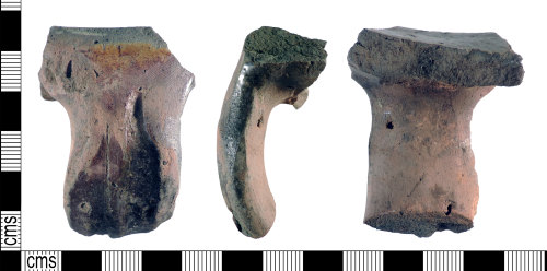 A resized image of Post-Medieval : Vessel Handle