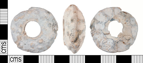 YORYM-22C63F: Medieval to Post-Medieval : Spindle Whorl