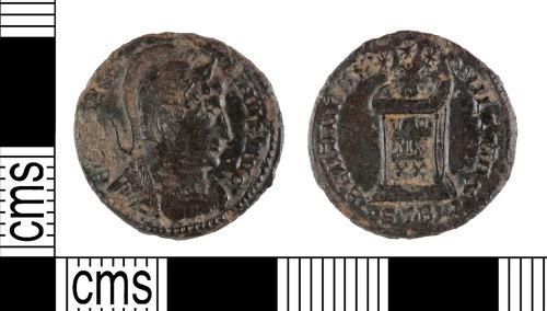 YORYM-33C293: Roman Coin : Nummus of Constantine I