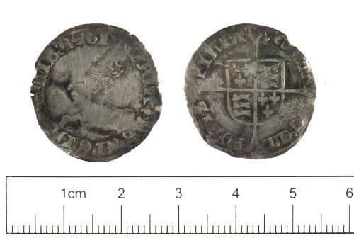A resized image of Post-medieval : Groat of Mary I