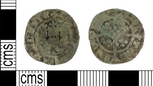 YORYM-0603B8: Medieval Coin : Penny of Edward III