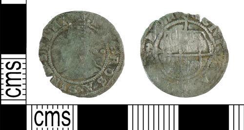 YORYM-064A69: Post-medieval Coin : Halfgroat of Elizabeth I