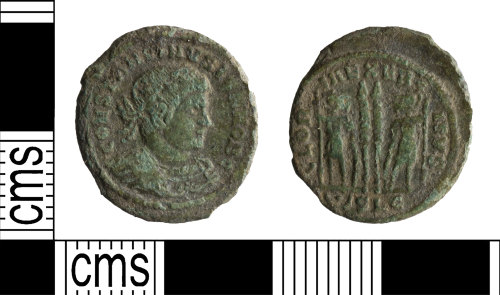 YORYM-D6918C: Roman Coin : Nummus of Constantine II