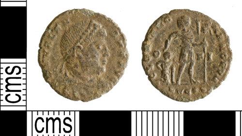 YORYM-2FC93D: Roman Coin : Nummus of Valens
